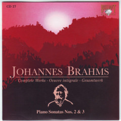 Johannes Brahms Edition: Complete Works (CD27)
