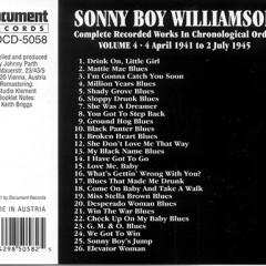 Complete Recorded Works volume 4 (CD2) - Sonny Boy Williamson