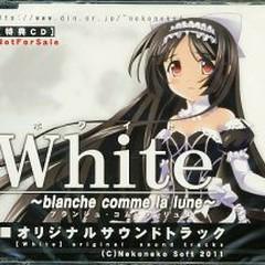 White ~blanche comme la lune~ Original Sound tracks