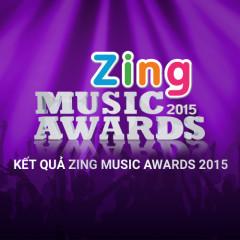 Kết Quả Zing Music Awards 2015