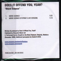 Weird Science - Does It Offend You,Yeah ?
