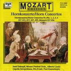 Mozart - Horn Concertos - Various Artists