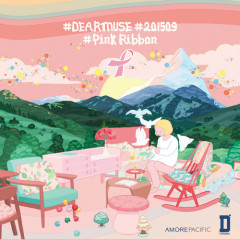 #DearMuse #201509 #PinkRibbon