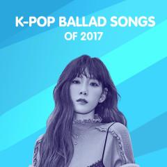 Top K-Pop Ballad Songs Of 2017