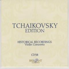 Tchaikovsky Edition CD 58
