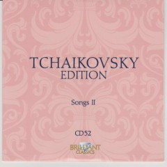 Tchaikovsky Edition CD 52 (No. 1)