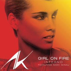 Girl On Fire (Promo CD) - Alicia Keys,Nicki Minaj