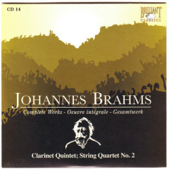 Johannes Brahms Edition: Complete Works (CD14)