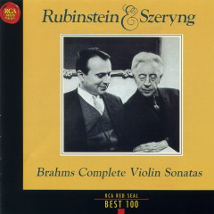 Brahms The Complete Violin Sonatas