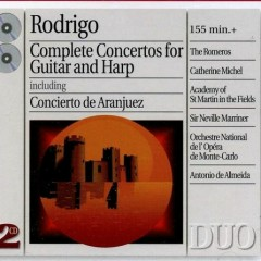 Complete Concertos For Guitar And Harp CD1