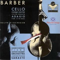 Cello Concerto, Cello Sonata, Adagio For Strings