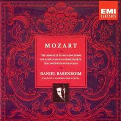 Mozart:The Complete Piano Concetros CD6 - Daniel Barenboim,English Chamber Orchestra