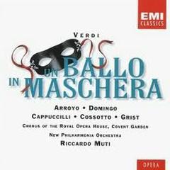 Un Ballo In Maschera CD 1 No. 1