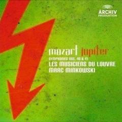 Mozart Jupiter Symphonies Nos.40 & 41  - Les Musiciens Du Louvre,Marc Minkowski