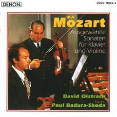 Mozart - Violin Sonatas CD 1 - Paul Badura-Skoda,David Oistrakh
