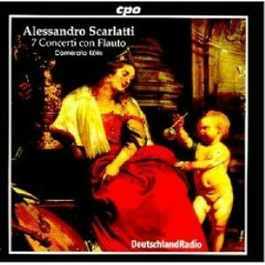 Scarlatti - 7 Concerti Con Flauto CD 1 - Camerata Köln