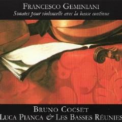 Sonates Pour Violoncelle Avec La Basse Continue CD 1 - Les Basses Reunies
