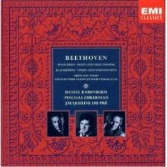 Beethoven - Piano Trios, Violin And Cello Sonatas CD 9 - Daniel Barenboim,Jacqueline du Pré,Pinchas Zukerman