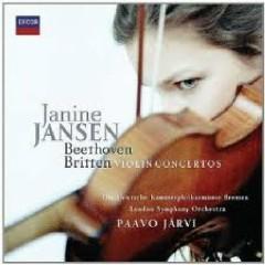 Decca Sound CD 21 - Beethoven & Britten Violin Concertos - Janine Jansen