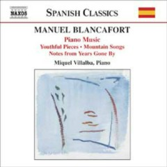 Manuel Blancafort Piano Music CD 1 No. 2 - Miquel Villalba