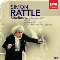 Sibelius: Symphonies 1-7 CD5 - Simon Rattle,City Of Birmingham Symphony Orchestra