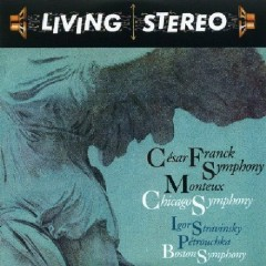 Living Stereo 60CD Collection - CD26 Franck, Stravinsky CD 2 - Igor Markevitch,Boston Symphony Orchestra