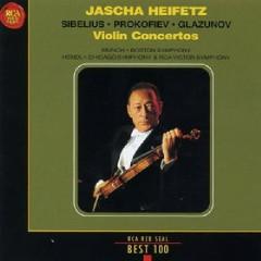 RCA Best 100 CD 68 - Sibelius, Prokofiev,Glazunov Violin Concertos