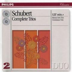 Schubert - Complete Trios CD 1