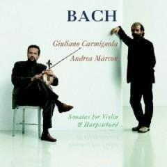 Bach - Sonatas For Violin And Harpsicord CD 1 - G.Carmignola,Andrea Marcon