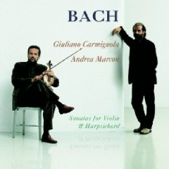 Bach - Sonatas For Violin And Harpsicord CD 2 - G.Carmignola,Andrea Marcon