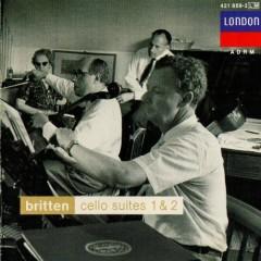 Britten - Cello Suites 1 & 2 CD 2 - Benjamin Britten,Mstislav  Rostropovich