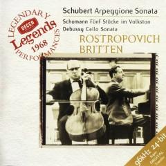 Schubert Sonata For Arpeggione & Schumann 5 Pieces In The Popular Style&Debussy Cello Sonata