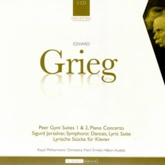 Peer Gynt Suites, Piano Concerto & Lyrics Pieces CD 1