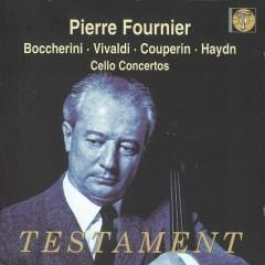 Boccherini Vivaldi Couperin Haydn Debussy Stravinsky Cello Works CD 1 - Testament  - Pierre Fournier