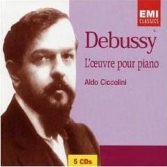 Debussy - L'Oeuvre pour Piano CD 5 - Aldo Ciccolini