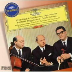 Beethoven Triple Concerto Brahms Double Concerto  - Ferenc Fricsay
