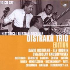 Oistrakh Trio Edition CD 3 - David Oistrakh,Lev Oborin,Sviatoslav Knushevitsky