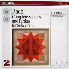Bach - Complete Sonatas And Partitas For Solo Violin CD 2 - Arthur Grumiaux