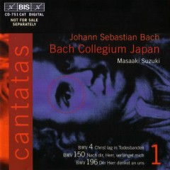 Bach - Cantatas Vol 1 CD 1
