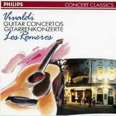 Vivaldi Guitar Concertos   - Los Romeros