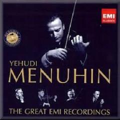 Yehudi Menuhin: The Great EMI Recordings CD 16