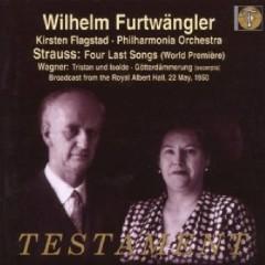 Strauss Four Last Songs - World Premiere