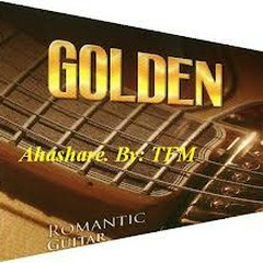 Golden Romantic Guitar