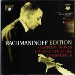 Rachmaninoff Edition - Complete Works CD 21 (No. 2) - Santiago Rodriguez