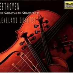 Beethoven - The Complete Quartets (CD 1) - Cleveland Quartet