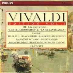 Vivaldi Edition Vol. 1 - Op. 1 - 6 Including L'Estro Armonico & La Stravaganza Disc 1 (No. 2) - Salvatore Accardo,I Musici