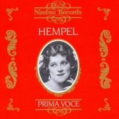 Hempel - Prima Voce