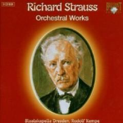Richard Strauss - Orchestral Works CD 9 (No. 1) - Rudolf Kempe,Dresden Staatskapelle Orchestra