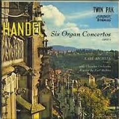 Handel - Twelve Organ Concertos CD 3 - Karl Richter,Karl Richter chamber orchestra