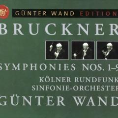 Bruckner - Complete Symphonies Nos 1 - 9 Disc 8 - Günter Wand,Kolner Rundfunk Sinfonie Orchester